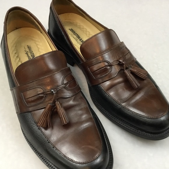 johnston and murphy slip on shoes